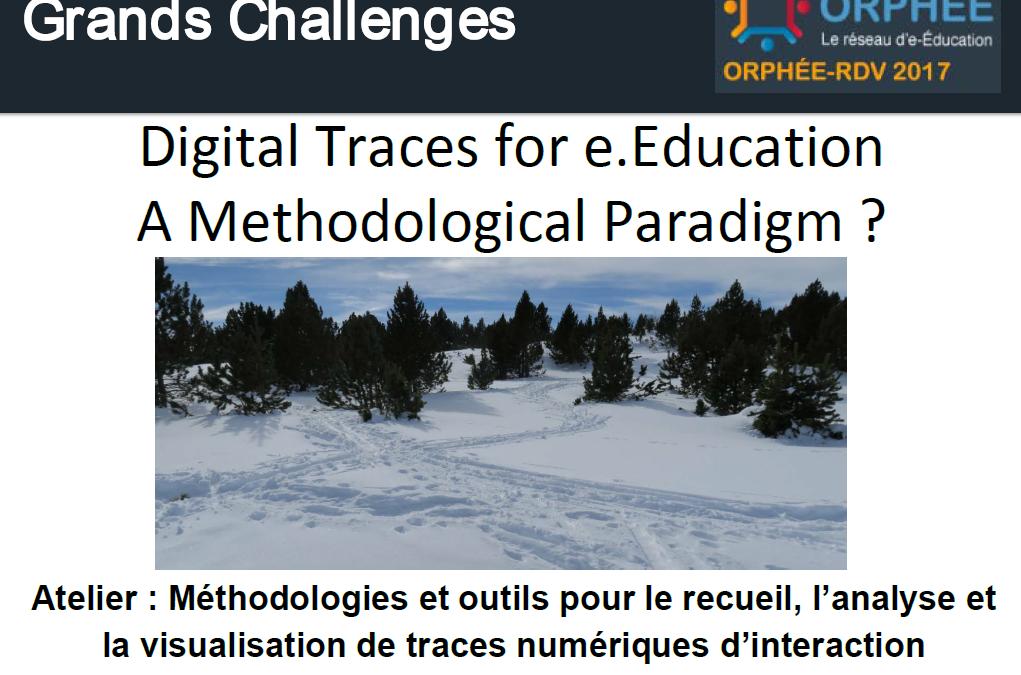 Atelier traces numériques d'interaction à Font-Romeu