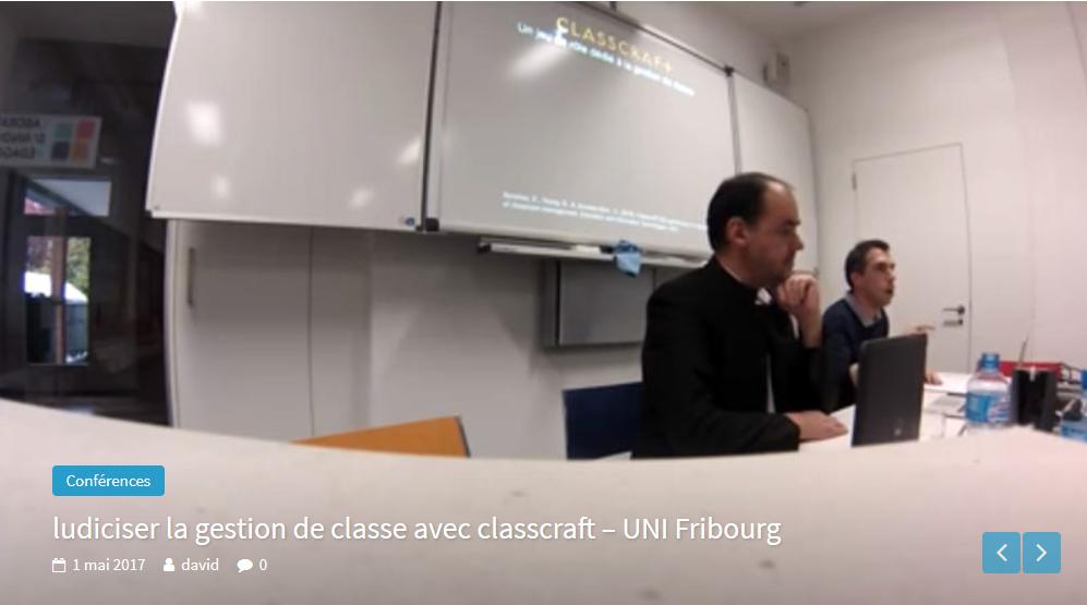 Ludiciser la gestion de classe avec Classcraft (2)