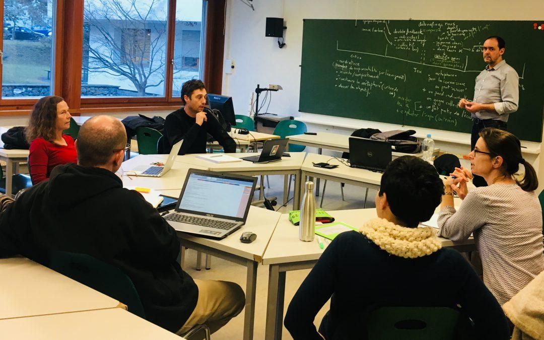 Projet PLAY – réunion de l'équipe et lancement d'une nouvelle itération