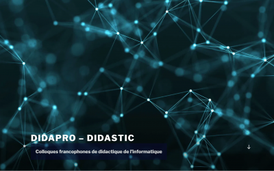 Conférence Didapro8 – DidaSTIC à Lille