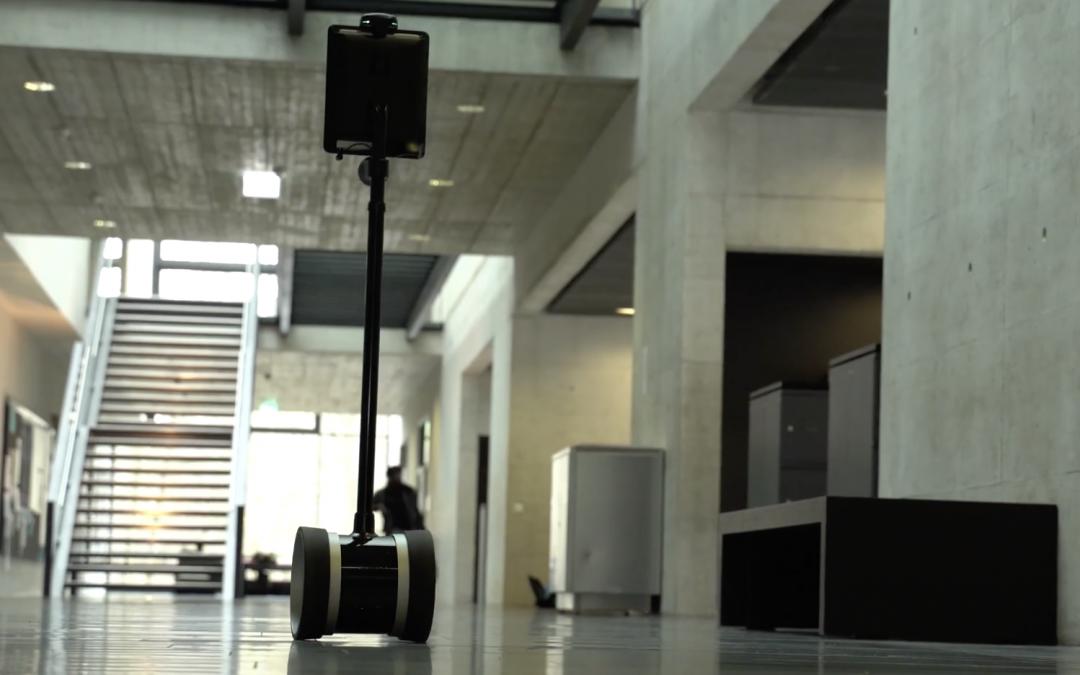 Des robots de téléprésence en quête d'idées pour un logo !
